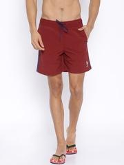U.S. Polo Assn. Red Swim Shorts