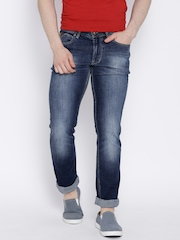 Numero Uno Blue Washed Morice Fit Jeans