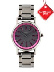 DKNY Women Charcoal Grey Dial Watch NY2420I