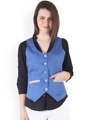Ruhaans Blue Waistcoat