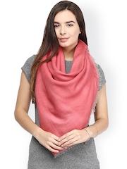 SHINGORA Pink Woollen Shawl