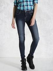 Roadster Blue Skinny Jeans