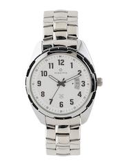 maxima Attivo Men White Dial Watch 26652CMGI