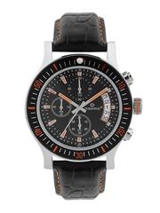 maxima Men Black Chronograph Dial Watch 36570LMGI