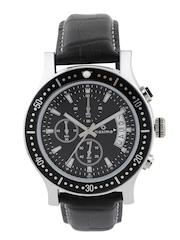 maxima Men Black Chronograph Dial Watch 36572LMGI