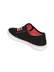 Kook N Keech Women Black Canvas Shoes