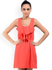 Oranje Clothing Red Sheath Dress