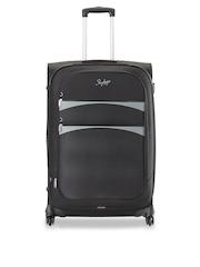Skybags Unisex Black Medium Trolley Suitcase