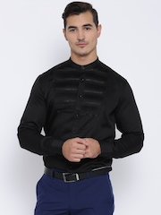 Blackberrys Black Casual Shirt with Tuck Detail