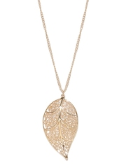 FOREVER 21 Gold-Toned Filigree Necklace