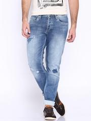 Jack & Jones Blue Mike Comfort Fit Jeans