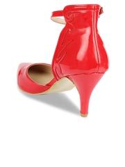 Jove Women Red Heels