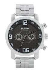 RDSTR Men Gunmetal-Toned Dial Watch MFB-PN-Y-S9470