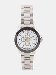 DressBerry Women Silver-Toned Dial Watch MFB-PN-Y-9123