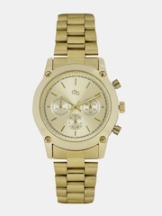 DressBerry Women Gold-Toned Analogue Watch MFB-PN-Y-S5236