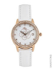 DressBerry Women Pearly White Dial Watch MFB-PN-Y-S9515
