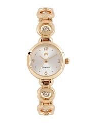 Anouk Women Silver-Toned Dial Watch MFB-PN-Y-S5328