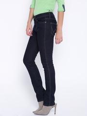 Wrangler Navy Drew Slim Fit Jeans