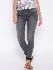 Wrangler Grey Slim Fit Jeans