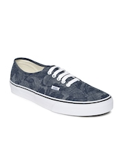 Vans Unisex Blue Printed Casual Shoes