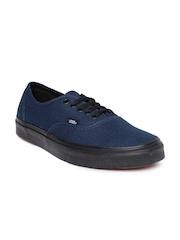 Vans Unisex Navy Authentic Casual Shoes