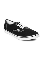 Vans Unisex Black Authentic Lo Pro Casual Shoes
