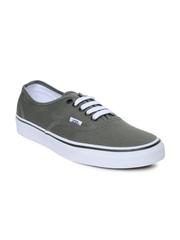 Vans Unisex Grey Authentic Casual Shoes