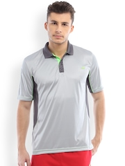 2go ACTIVE GEAR USA Grey Polo T-shirt