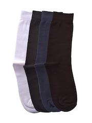 Tossido Men Set of 4 Above Ankle-Length Socks