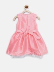 612 League Girls Pink Fit & Flare Dress