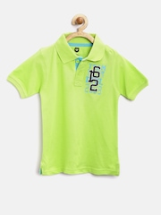 612 League Boys Lime Green Polo T-shirt
