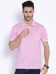 ColorPlus Pink Classic Fit Polo T-shirt