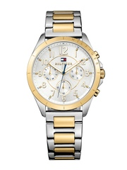 Tommy Hilfiger Women Silver-Toned Dial Watch TH1781607J