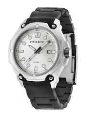 Police Men White Dial Watch PL13939JS04AJ