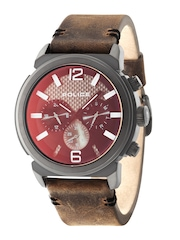 Police Men Red Dial Watch PL14377JSB02J