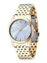 Police Women Blue Dial Watch PL14495MSG08MJ