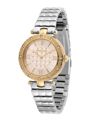 Police Women Silver-Toned Dial Watch PL14623LSG04MSJ