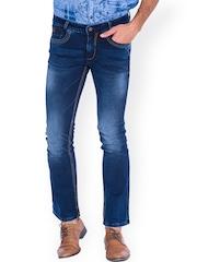 Mufti Blue Boot-Cut Jeans