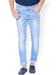 Mufti Blue Narrow Jeans