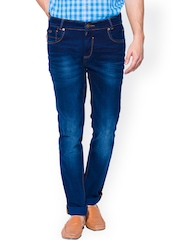 Mufti Blue Narrow Jeans