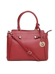 Caprese Maroon Handbag