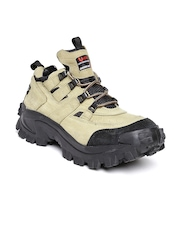 Woodland ProPlanet Men Khaki Leather Outdoor Shoes