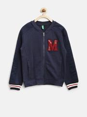United Colors of Benetton Boys Navy Sweatshirt