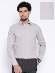 Raymond Taupe Contemporary Fit Formal Shirt