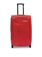 VIP Unisex Red Small Trolley Suitcase