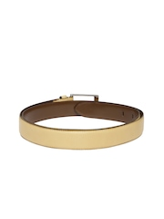 Tommy Hilfiger Men Tan Brown Genuine Leather Belt