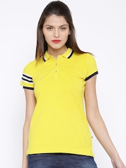 HARVARD Yellow Polo T-shirt