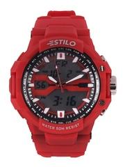 Estilo Men Red Digital & Analogue Watch ES2127