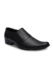 Sir Corbett Men Black Semiformal Shoes