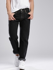 Levi's Black Original Fit Jeans 501